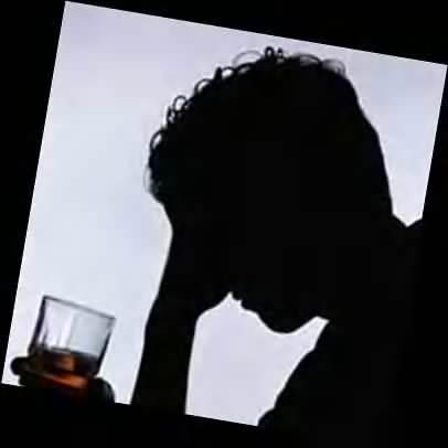 Los sufrimientos del alcoholismo