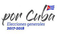 Logotipo de eleccione generales en Cuba